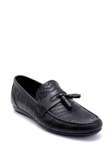 Derimod Erkek Loafer(257) Klasik Siyah
